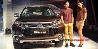 All New Pajero Sport List Kap Mobil Depan Molding Chrome mitsubishi kudus 2016 01 31