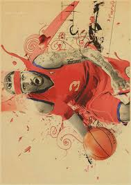 Cafe Home Decor Aliexpress Com Buy Basketball Star Classic Allen Iverson Retro