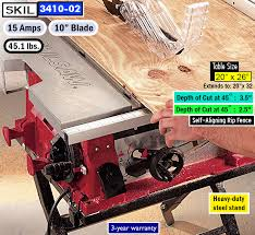 Skil Table Saw Best Table Saw For The Money Top Rated Portable Table Saws
