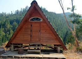 a frame rustic off grid cabin mmv ecovillage cabins for rent in