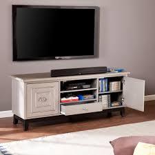 Furniture Sliders Walmart Southern Enterprises Lansing Antique Grey Entertainment Center