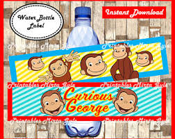 curious george party curious george etsy