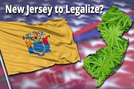 Weed Flag New Jersey Voters Could Decide On Marijuana Legalization