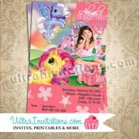 little pony birthday invitations personalized party invites