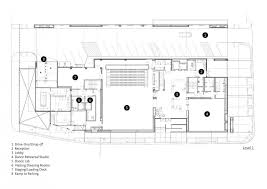 Dance Studio Floor Plan Gallery Of Cultural Center At Saint Germain Lès Arpajon Ateliers