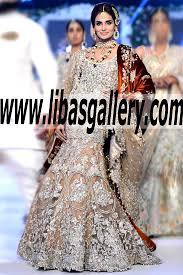 luxury bridal wear 2015 dresses elan pfdc loreal paris bridal