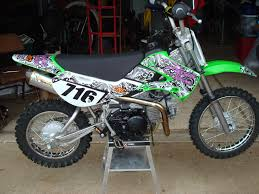 post your pics of your klx110 stock mod bikes page 20