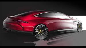 car design sketch u0026 drawing mercedes benz amg gt concept youtube