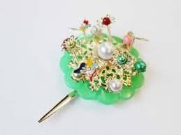 hanbok ornamental hairpin binyeo hair pin stick band dress