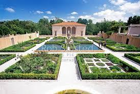 New Zealand Botanical Gardens Part Of The Italian Renaissance Garden In The Botanical Gardens