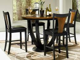 kitchen table height dining table set glass dining table on