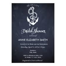 Nautical Bridal Shower Invitations Bridal Shower Invitations U0026 Announcements Zazzle Co Nz