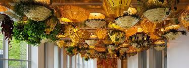 u0026 juana hang geometric indoor garden oasis at chicago u0027s