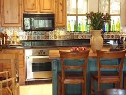 Height Kitchen Cabinets Spanish Kitchen Decor Style Cabinets Southwestern Swivel Bar Stool