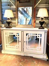 how to make mirrored buffet table