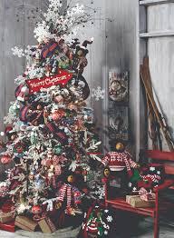 ski patrol tree by raz imports hermosos arboles de