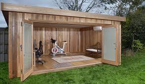 bureau de jardin en bois bureau de jardin bureau extérieur studio de jardin