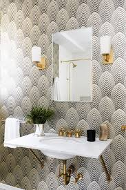 wallpaper bathroom designs best 25 wall paper bathroom ideas on bathroom