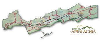 Map A Bike Route by Heart Of Appalachia Heart Of Appalachia Bike Route And Scenic Drive