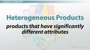 homogeneous products definition u0026 overview video u0026 lesson