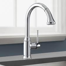 polished nickel kitchen faucets nickel kitchen faucet sinks and faucets delta brushed nickel