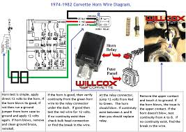 1971 corvette horn relay wiring diagram corvette wiring diagrams