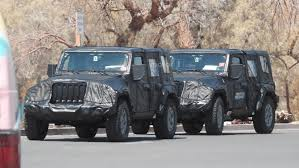 jeep truck spy photos 2018 jeep wrangler spy phots emerged automotorblog