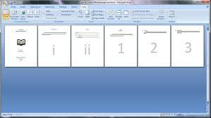 cara membuat nomor halaman yang berbeda di word 2013 belajar microsoft word 2007 cara membuat page number atau nomor