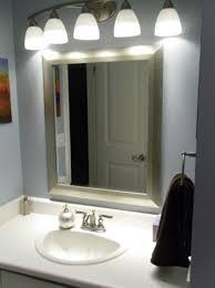 mesmerizing bathroom lighting fixtures lowes vanity mirror with