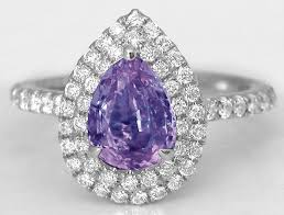 purple diamond engagement rings purple sapphire ring pr 109