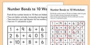 number bonds primary resources page 3