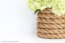 Diy Vase Decor Diy Nautical Vase