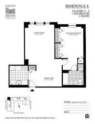 floor plans of hudson square south apartments in hoboken nj