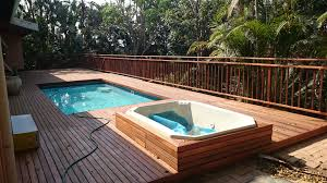 above ground pool deck ideas affordable backyard landscaping ol