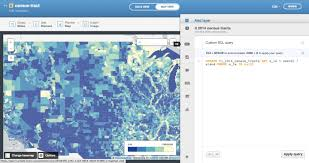 New York Times Census Map by Cartodb Workshops Land Census Maps Journalism