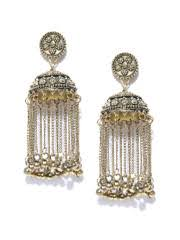 jhumka earrings online jhumkas buy jhumka earrings online in india myntra