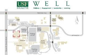 map usf well building information usf health