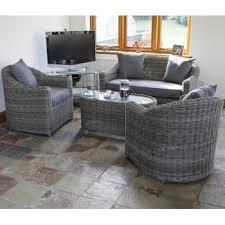 Buy Rowlinson Bunbury Rattan Sofa Set - Wicker sofa sets