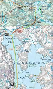 Algonquin Map Trip Log 93 Day 1 My Journey Begins