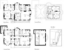 cooldesign blueprint house pin drawn house manor house 10
