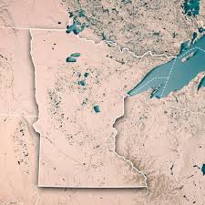 minnesota topographic map minnesota topographic map pictures images and stock photos istock