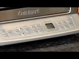 Cuisinart Tob 40 Custom Classic Toaster Oven Broiler Best Price Cuisinart Convection Toaster Oven Broiler Tob 195 Demo Video