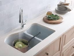 kohler kitchen sinks kitchen makeovers discount kohler sinks kohler riverby