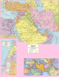 Mid East Map Mid East Maps
