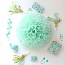 mint green tissue paper apple green tissue paper pom pom tissue paper pom poms