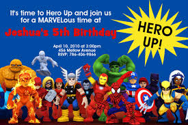 fearsome superhero birthday party invitations trends theruntime com