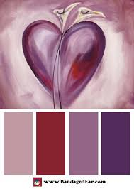Purple Color Shades 97 Best Color Palette Images On Pinterest Colors Paintings And