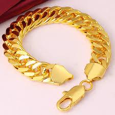 cuban chain bracelet images 1 4cm wide yellow rose gold filled curb cuban chain bracelet jpg