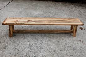 Outdoor Benche - farmhouse style wooden bench ambrosia maple the second ones