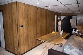 using paintable wallpaper to cover wood paneling super nova wife